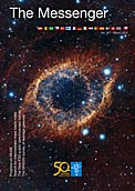 Portada del número 147 de la revista  The Messenger