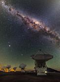 ALMA und das Zentrum der Milchstraße