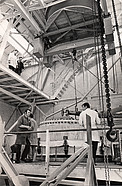 Building the ESO 3.6-metre telescope