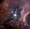 Around the massive star IRS2