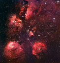 Mounted image 115: The Cat's Paw Nebula