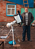 Astronomy enthusiast Igor Chekalin from Russia