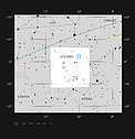 Le champ COSMOS dans la constellation du Sextant