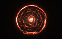 Curious spiral spotted by ALMA around red giant star R Sculptoris (data visualisation)