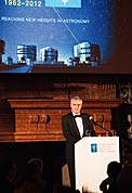Tim de Zeeuw at ESO 50th Anniversary Gala Event
