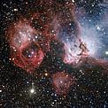 Imagen de la región de formación estelar NGC 2035 obtenida con el VLT (Very Large Telescope) de ESO