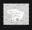 La estrella hipergigante amarilla HR 5171 en la constelación de Centaurus