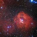 La región de formación estelar Gum 41