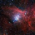 El cúmulo estelar NGC 3293