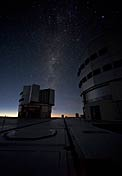 Milky Way Above the VLT Platform