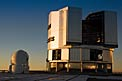 VLT Unit and Auxiliary Telescope at Paranal