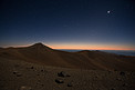 Night falling over Paranal