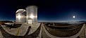 Moonlit panorama at La Silla