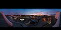 Der ESO-Hauptsitz bei Sonnenuntergang