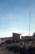 The radio hut at La Silla
