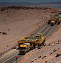 ALMA Transporters Arrive in Chile