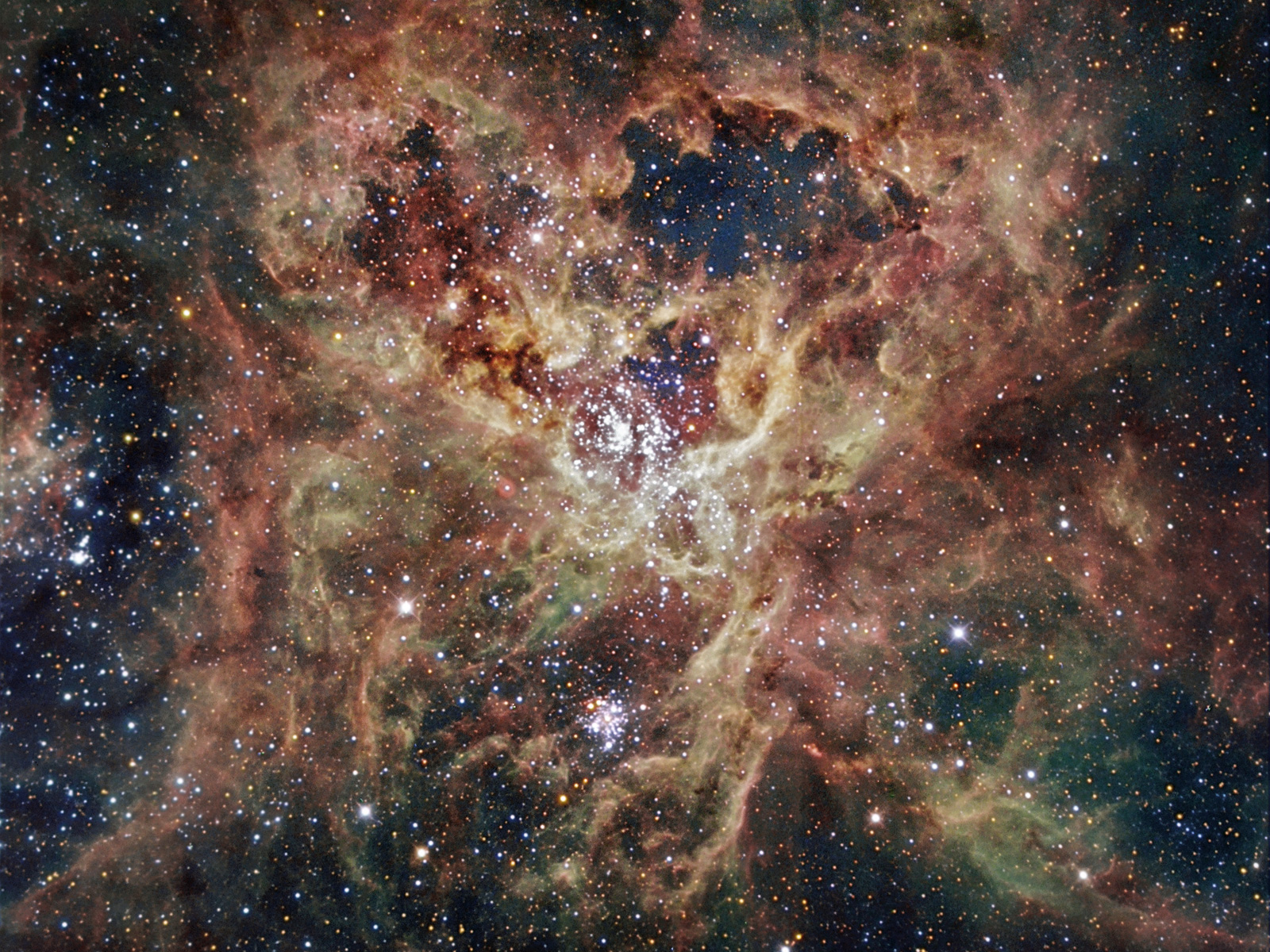 eso tarantula nebula wallpaper - photo #7