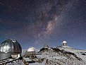 Milky Way Shines over Snowy La Silla