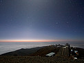 Moonlight and Zodiacal Light Over La Silla