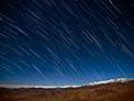 Star Rain in the Desert