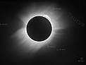 Highest resolution image of the 1919 solar eclipse