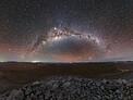 Milky Way Across the Desert