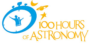 100 Hours of Astronomy logos
