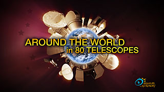 Around the World in 80 Telescopes