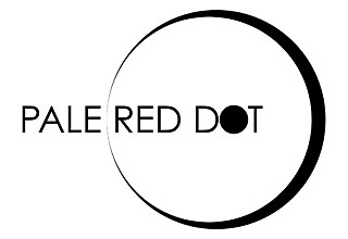 Pale Red Dot Logo (black)