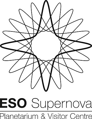 ESO Supernova logo black