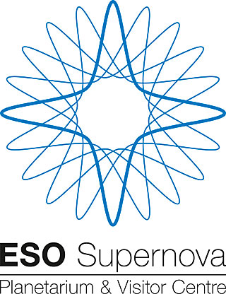 ESO Supernova logo blue