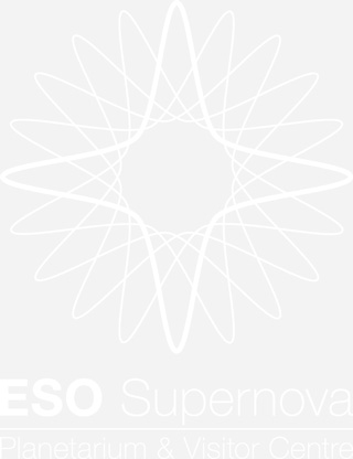 ESO Supernova logo white