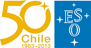 ESO 50th Anniversary Logo (Chile)