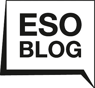 Logo: ESOblog in black