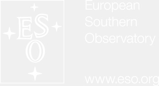 ESO logo and text in white, with transparent background