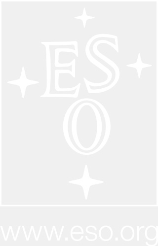 ESO logo and URL in white, with transparent background