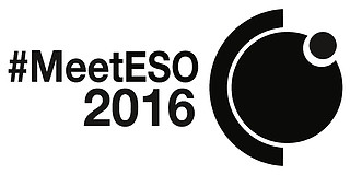 Logo: #MeetESO 2016 (all black)