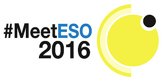 Logo: #MeetESO 2016 (colour)