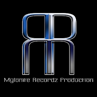 Logo: Mylonite MRP (Mylonite RecordZ Production)