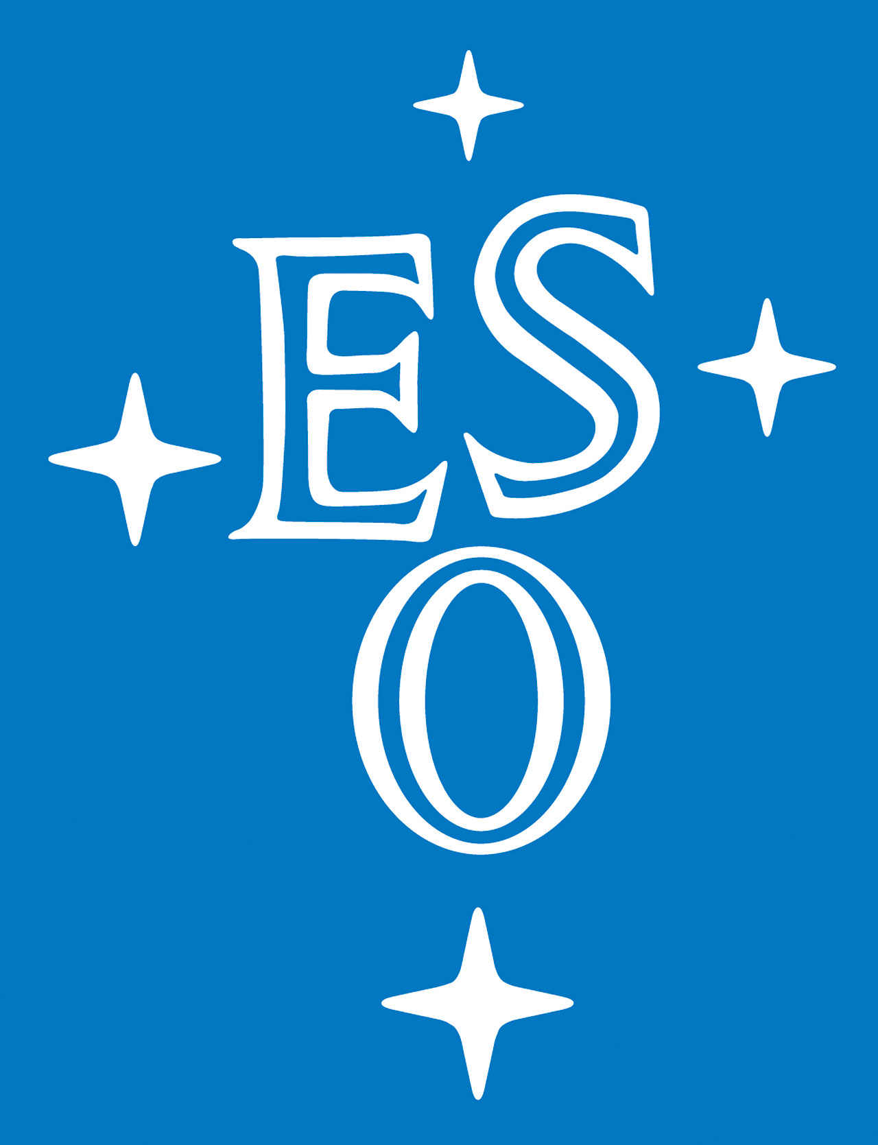 ESO logo blue  P Logo With Blue Background