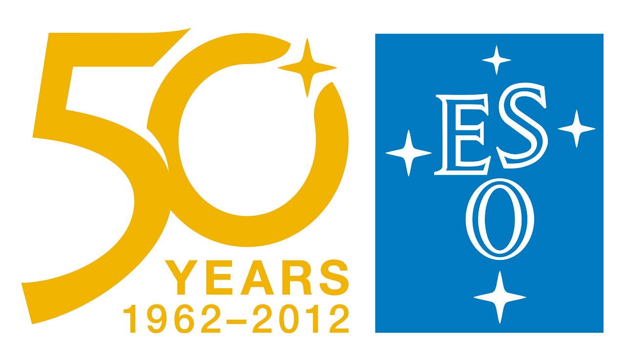 eso 50th anniversary logo eso