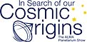 In Search of our Cosmic Origins logos