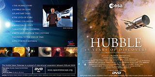 DVD: Hubble - 15 years of Discovery (ESA Cardboard PAL DVD v.1)