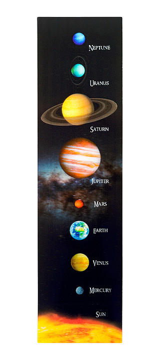 3D Solar system Bookmark ENG