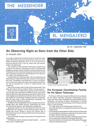 Messenger Issue 25