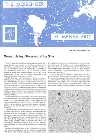 Messenger Issue 041