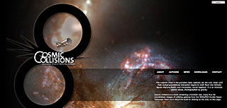 Cosmic Collisions mini site