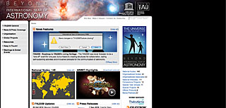International Year of Astronomy IYA2009 / Beyond 2009 mini site