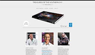 Treasures of the Southern Sky mini site