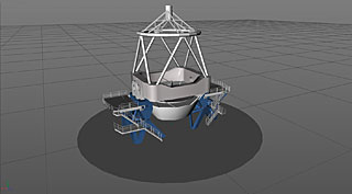3D Model of the VLT Unit Telescope